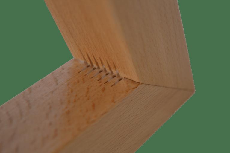 Sessel - Gestell - Eckverbindung